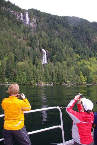 Custom boat charters, BC Coast