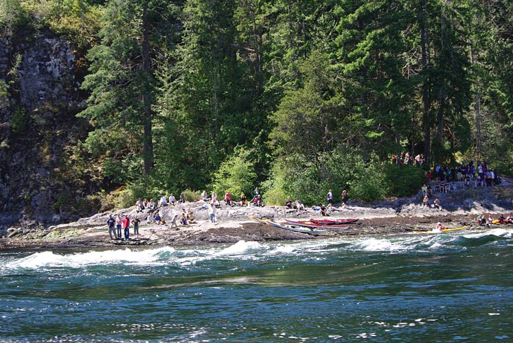 Skookumchuck Narrows and Sechelt Rapids, BC
